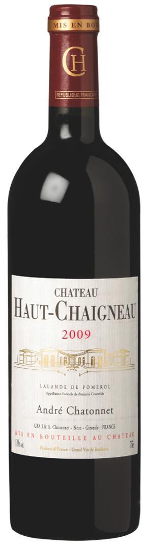 visuel Château Haut-Chaigneau 2009