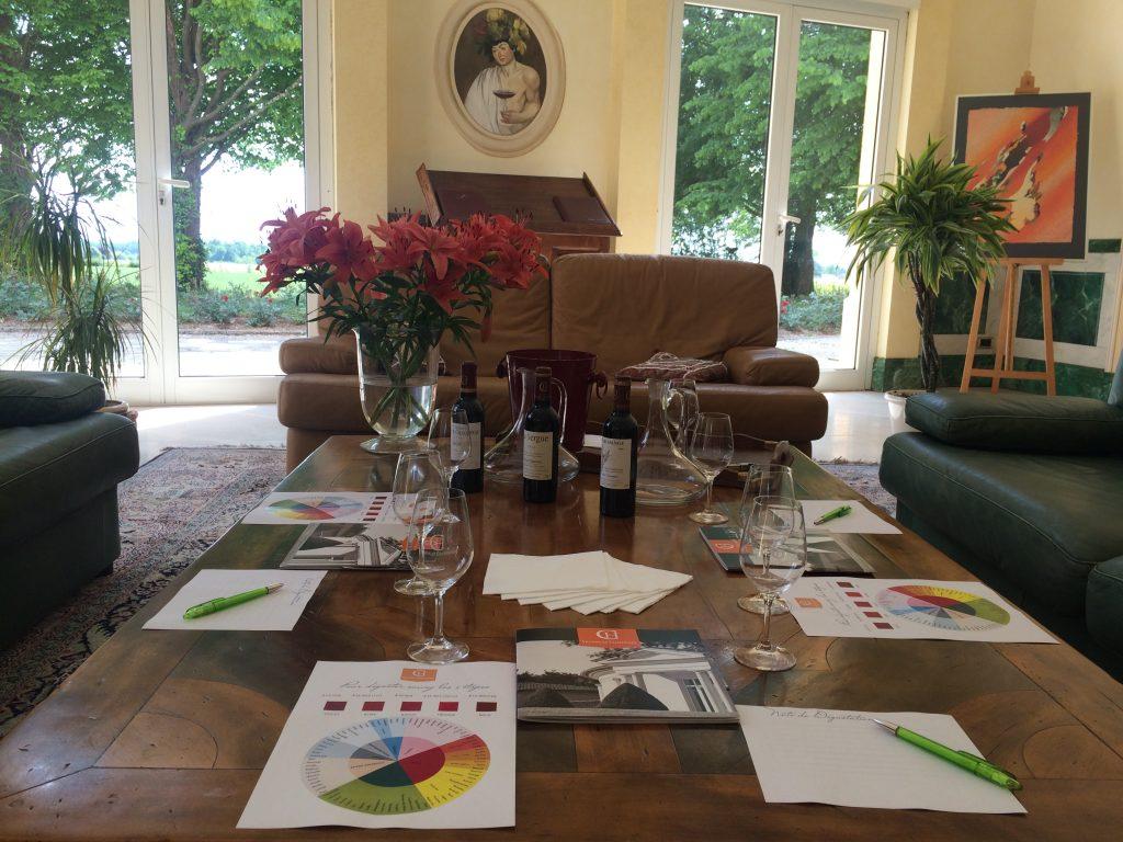 Atelier Dégustation 3 vins
