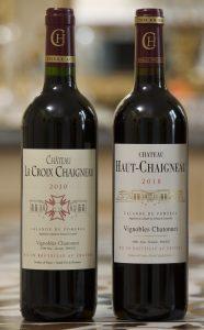 Dégustation 2 vins