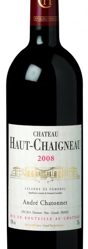 visuel Château Haut-Chaigneau 2008