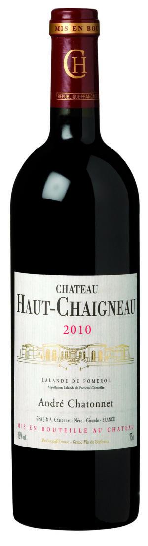 visuel Château Haut-Chaigneau 2010