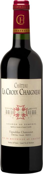 visuel Château La Croix Chaigneau