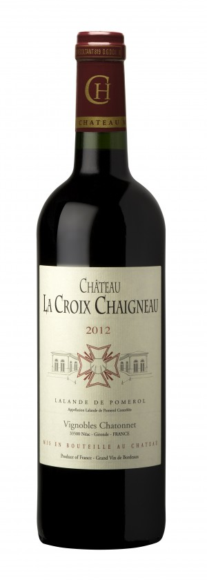 visuel Château La Croix Chaigneau 2012