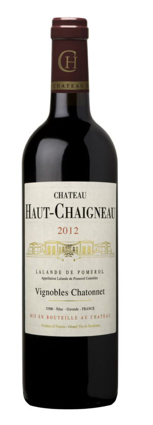 visuel Château Haut-Chaigneau 2012