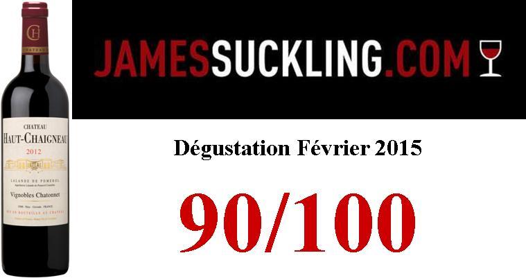 image Résultats dégustation Millésime 2012 – James Suckling – Février 2015