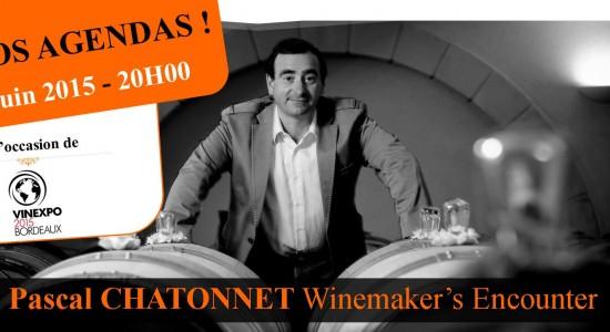 image Vinexpo 2015 : 6ème édition Pascal CHATONNET Winemaker's Encounter