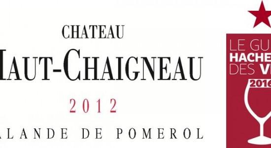 image Haut-Chaigneau 2012 primé au Guide Hachette des Vins 2016