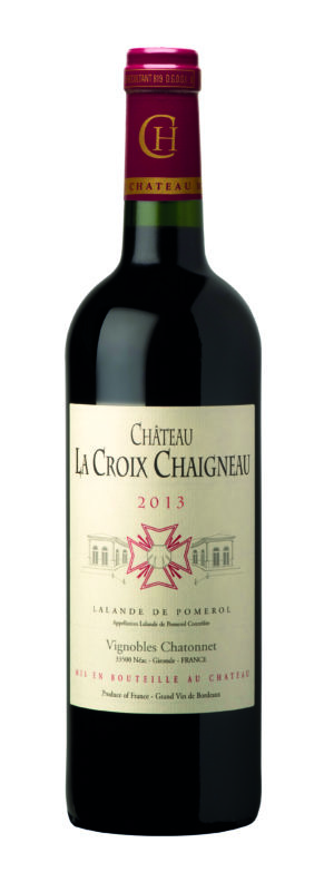 visuel Château La Croix Chaigneau 2013