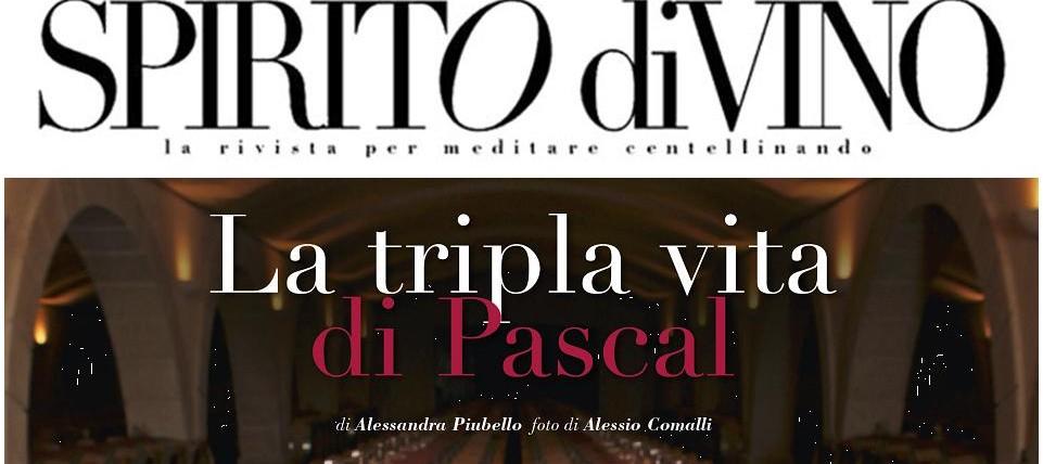 image La triple vie de Pascal, article SPIRITO diVINO