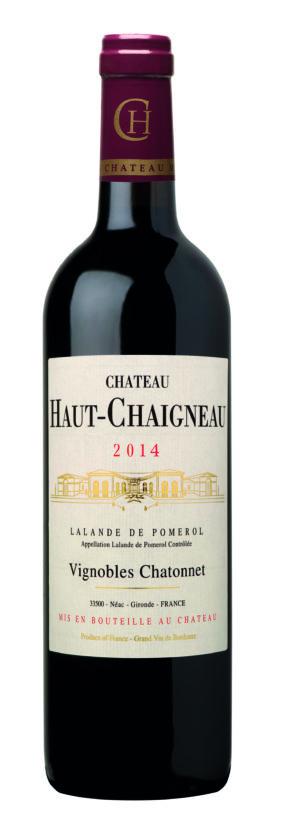 visuel Château Haut-Chaigneau 2014