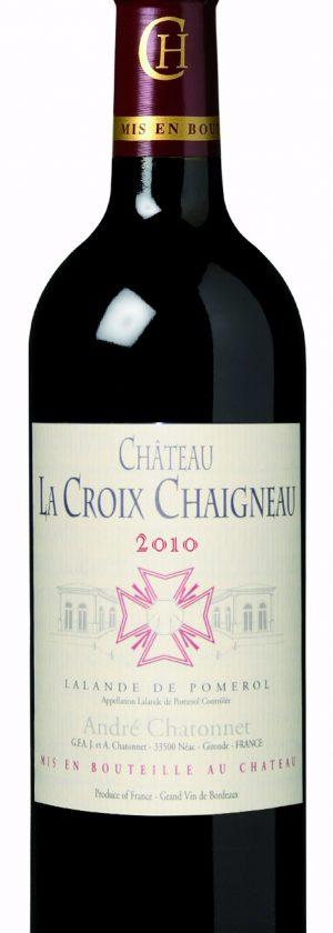 visuel Château La Croix Chaigneau 2010
