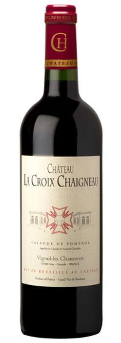 visuel Château La Croix Chaigneau 2008