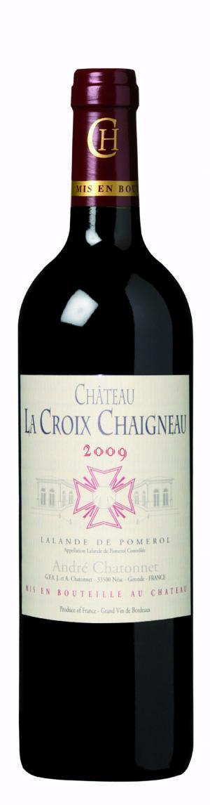 visuel Château La Croix Chaigneau 2009