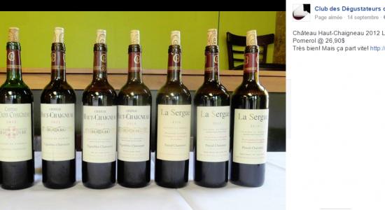 image Club des Dégustateurs de Grands Vins