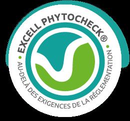 Image Phytocheck pour des vins sans pesticides.