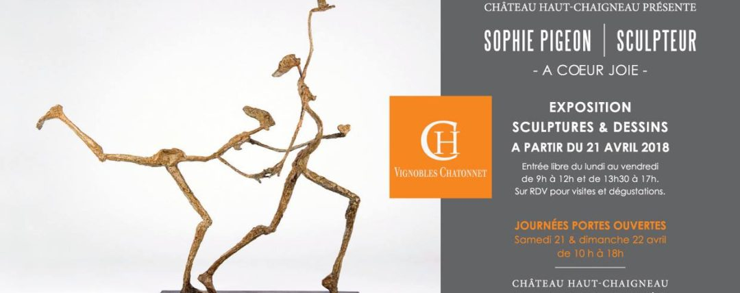 image Exposition «À Cœur Joie» de Sophie Pigeon