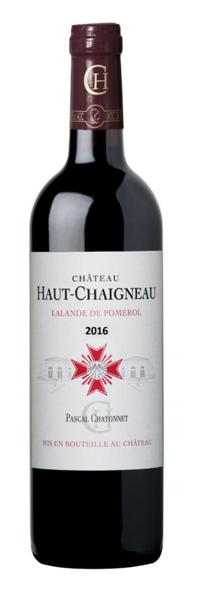 visuel Château Haut-Chaigneau 2016
