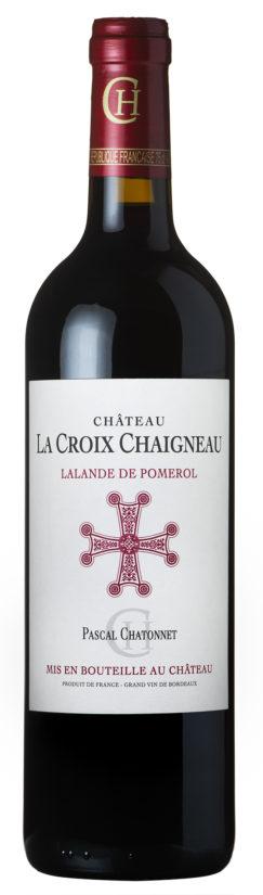 visuel Château La Croix Chaigneau 2016