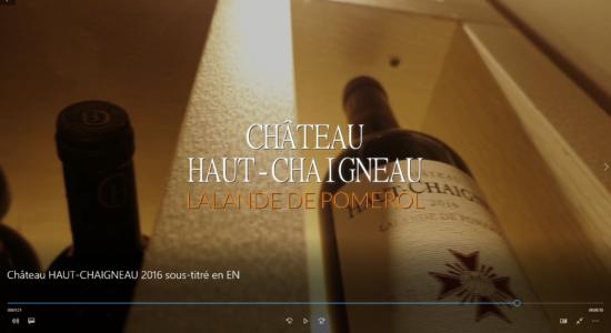 image Dégustation du Château Haut-Chaigneau 2016 par Pascal Chatonnet