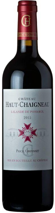 visuel Château Haut-Chaigneau 2015